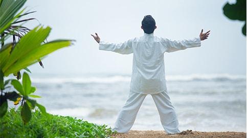 Yoga, Meditation, Thai Chi Kurse und Beauty Behandlungen im  Lanka Princess Hotel, dem Ayurveda Hotel in Sri Lanka