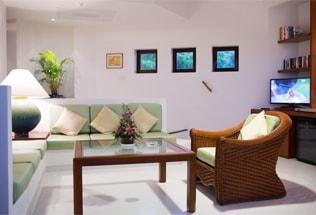 Zimmer im  Lanka Princess Hotel, dem Ayurveda Hotel in Sri Lanka