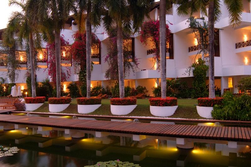 Ayurveda Hotel Lanka Princess bei Dämmerung