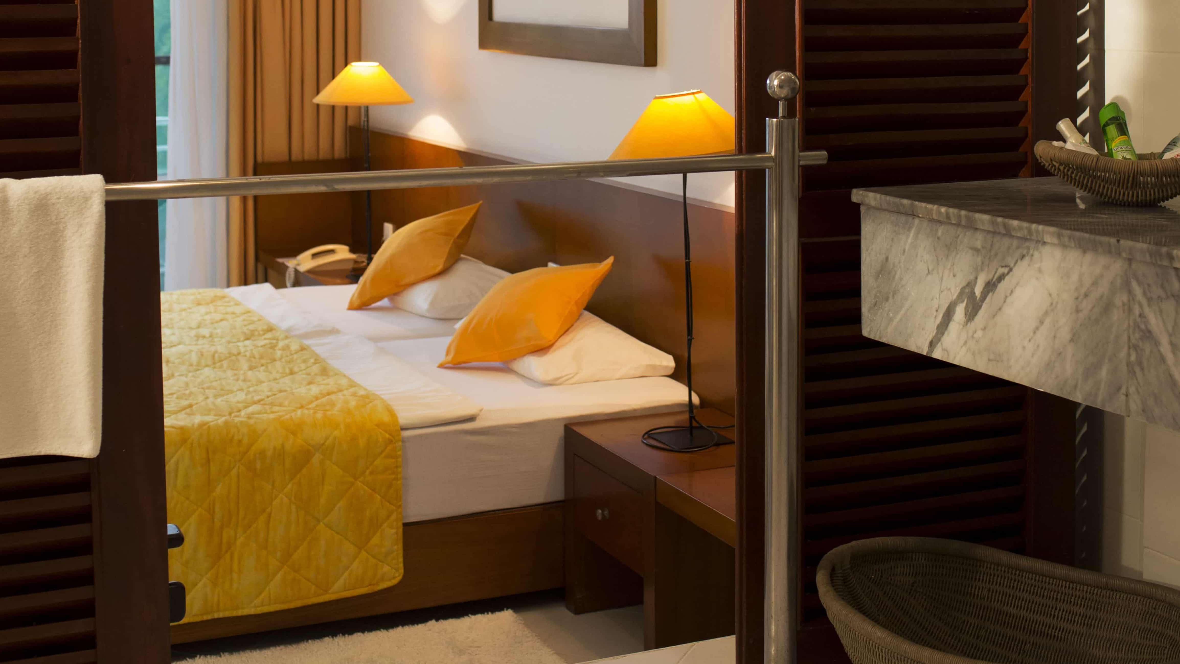 Comfort Plus Zimmer im Ayurveda Hotel Lanka Princess, unter deutscher Leitung in Sri Lanka