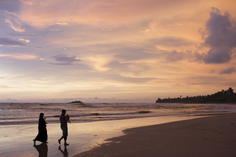 Sonnenuntergang in Sri Lanka im Ayurvedahotel Lanka Princess