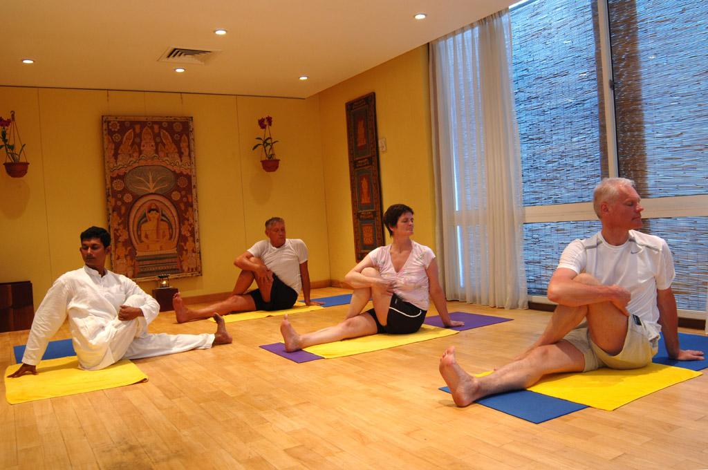 Yoga im Ayurveda Hotel Lanka Princess