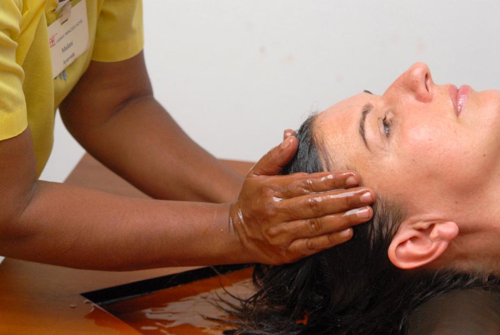 Öl Kopfmassage