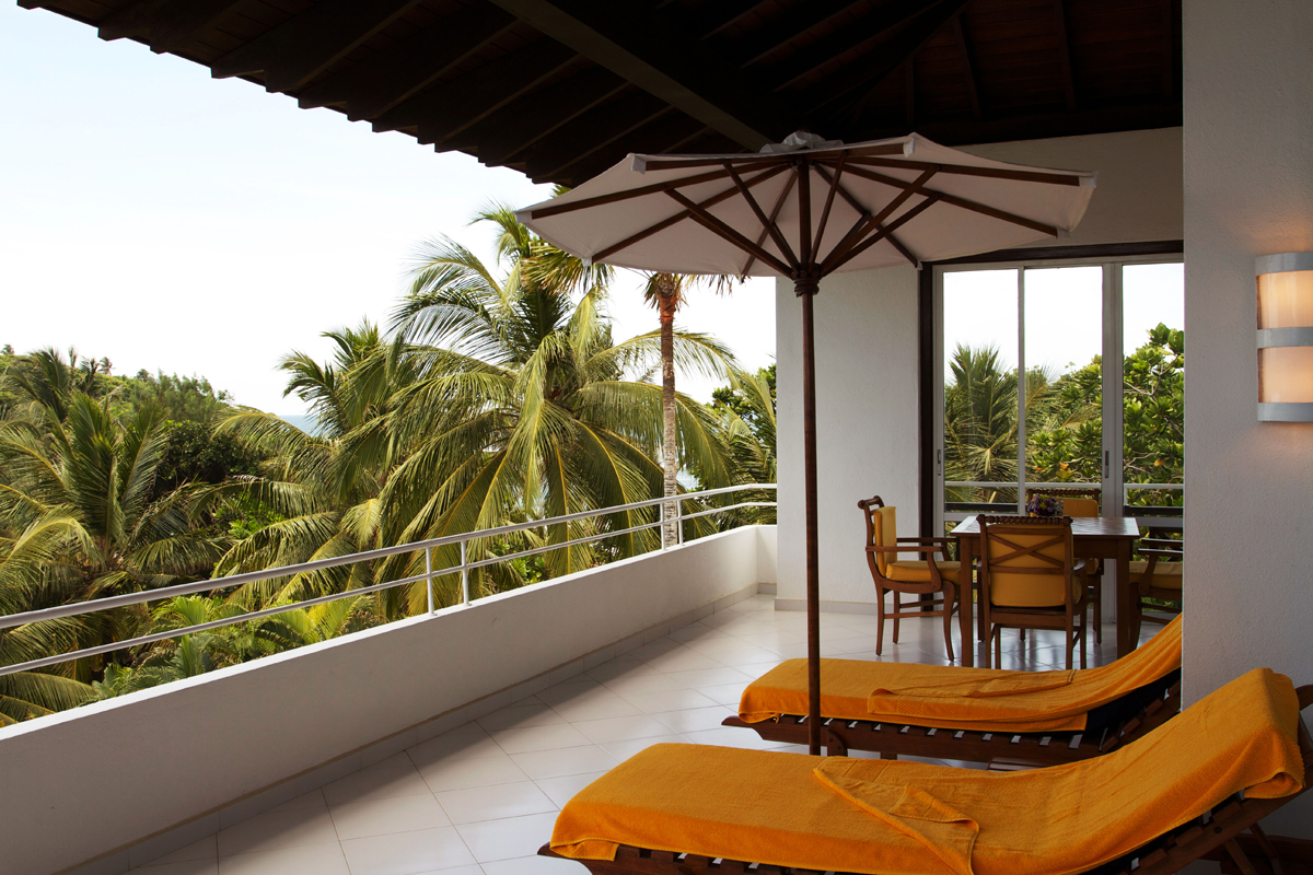 Balkon Superior Suite Plus Lanka Princess Hotel