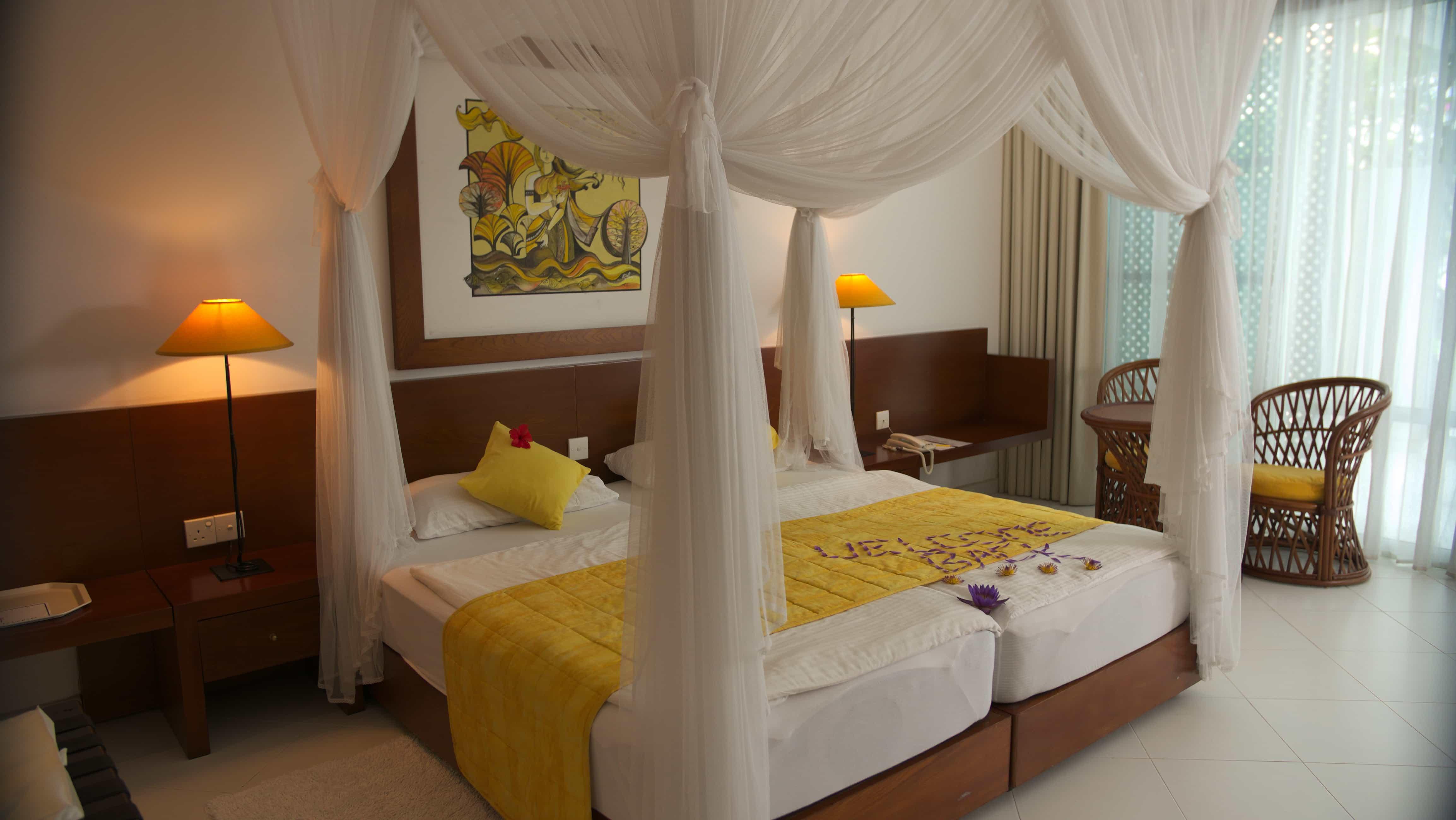 Superior Plus Zimmer im Ayurveda Hotel Lanka Princess, unter deutscher Leitung in Sri Lanka