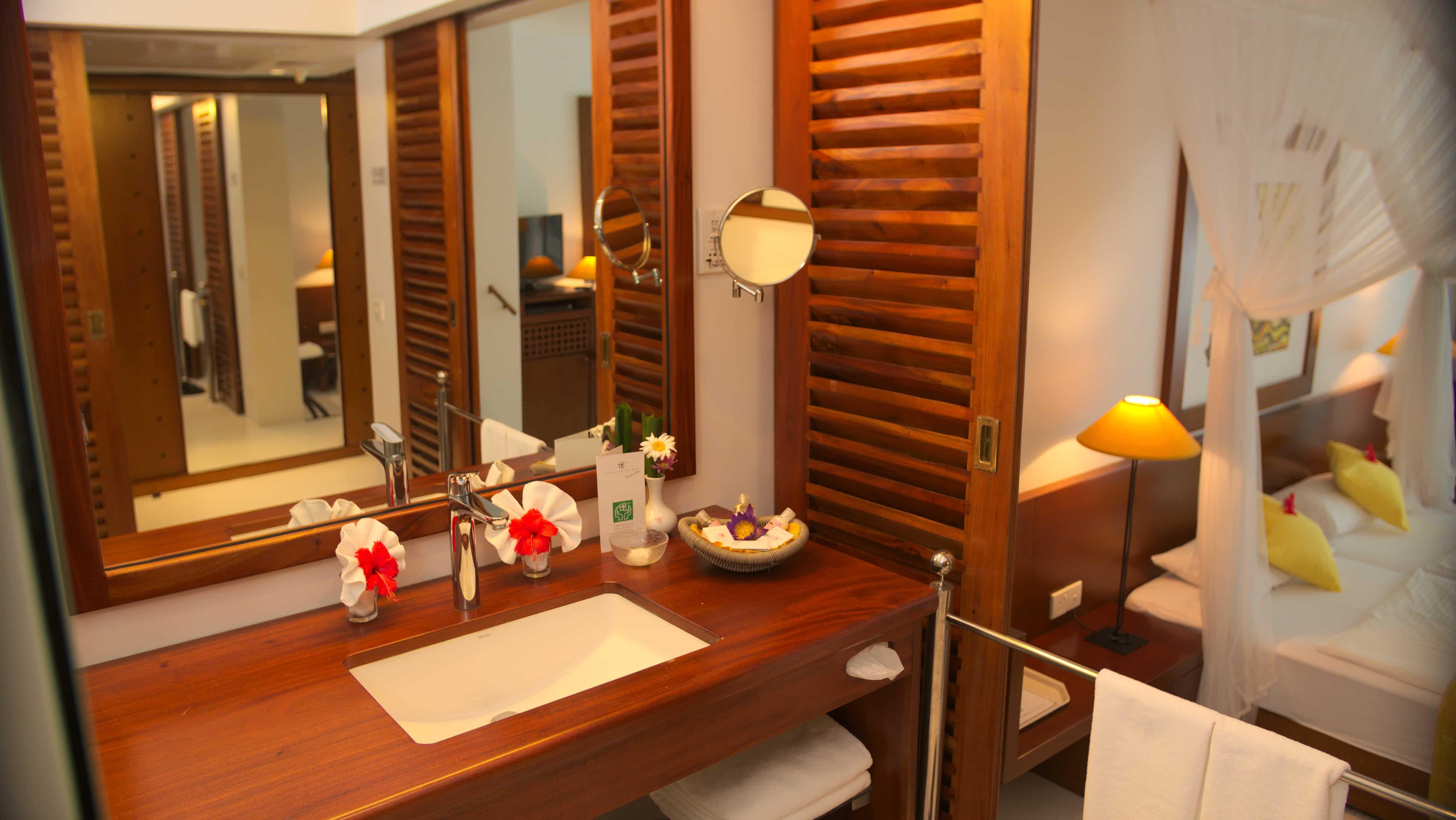 Superior Badezimmer im Ayurveda Hotel Lanka Princess, unter deutscher Leitung in Sri Lanka