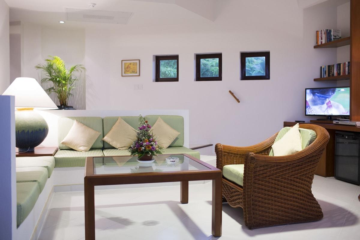 Wohnraum Suite Superior Plus