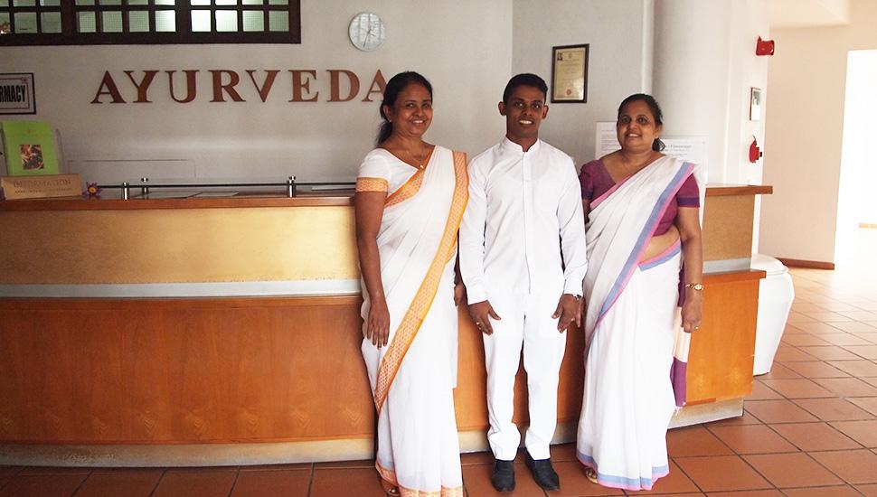 Ayurveda Ärzte im Ayurveda Urlaub in Sri Lanka bei Lanka Princess