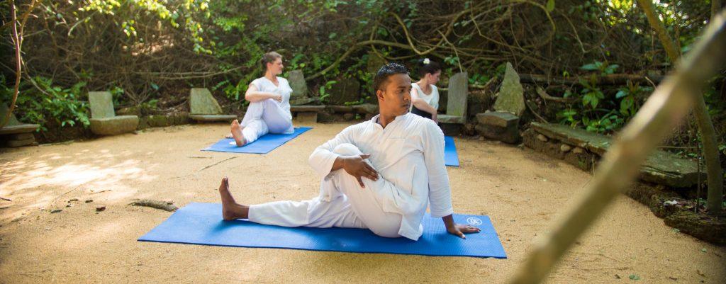 Yoga & Meditation im Ayurveda Hotel Lanka Princess